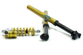 Ohlins Lookalike Forks for 50 and 65cc